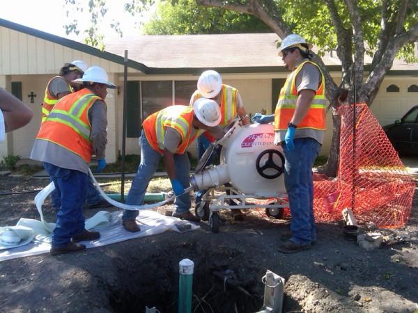Broken Sewer Pipe Glendale