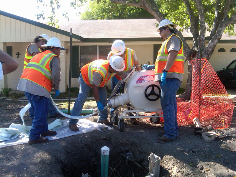 Broken Sewer Pipe Glendale