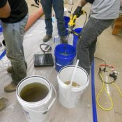 Sewer Gas Problem that was filling the aging K-12 grade school building!
